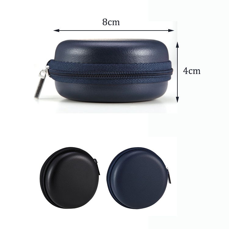 Earbud Carrying Cases Sweatproof Travel Earphone Storage Pouch Portable Protection EVA Hard Earpieces