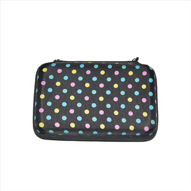 3DS Case, EVA Waterproof Hard Shield Protective Carrying Case with Detachable Hand Wrist Strap for Nintendo New 3DS XL, New 3DS, 3DS XL, 3DS, 3DS LL or 2DS XL or DSi, DS Lite (Printed)