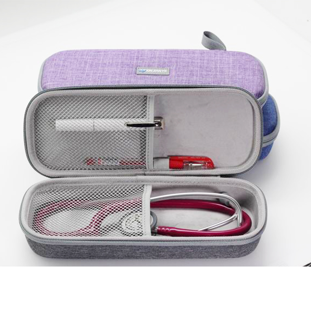 eva stethoscope case Travel Carrying Case for 3M Littmann Classic III Stethoscope - Extra Room for Taylor Percussion Reflex Hammer and Reusable LED Penlight