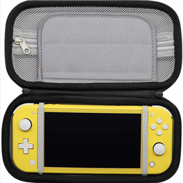 Zipper Closure Shockproof Hard Case For Nintendo Switch-Lite Portable Travel Bag