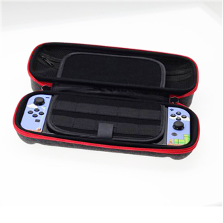 Switch Case EVA Hard Shell Portable Travel Bag for Nintendo Switch, Storage 20 Game Cartridges, Power Bank and Two Extra Joy Cons