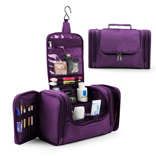 Household Storage Pack / Bathroom Storage with Hanging for Business, Vacation, Household travel toiletry bag